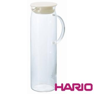 【HARIO】米白把手冷水壺1000ml(HDP-10PW)