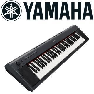【YAMAHA 山葉】76鍵寬音域電子琴/含琴袋/原廠保固/黑色(NP-32)