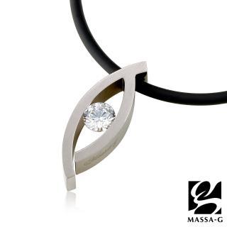 【MASSA-G】LJ 純鈦系列 Polyhymnia 波利之眼 鍺鈦項鍊