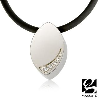 【MASSA-G】LJ 純鈦系列 晶點‧瑟蕾娜 時尚晶點 鍺鈦項鍊