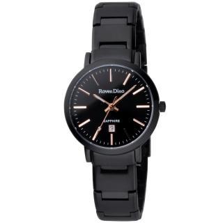 【Roven Dino羅梵迪諾】色彩抉擇時尚日期腕錶-金字/小(RD676B-396-K)
