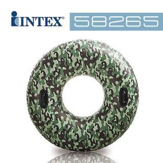 【INTEX】47吋迷彩把手游泳圈(58265)