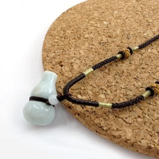 【Hera】頂級天然A貨翡翠納財葫蘆項鍊
