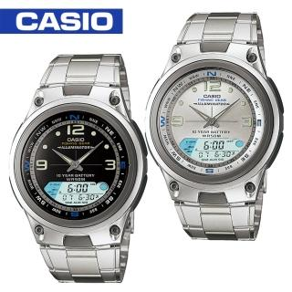 【CASIO 卡西歐】日系-釣魚推薦款(AW-82D)