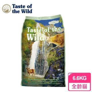 【海陸饗宴Taste of the Wild】全貓種 無榖貓糧 洛磯山鹿肉鮭魚(7公斤)