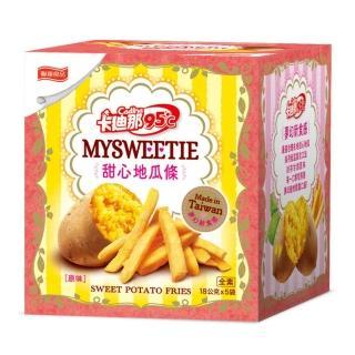 【聯華食品-卡迪那】北海道風味薯條-鹽味(18gx5包)