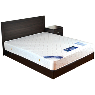 【時尚屋】安納貝爾5尺床片型4件房間組(可選色U4-GA4-16床頭片-床頭櫃-床墊-床底)