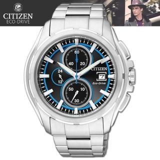【CITIZEN 星辰】光動能關鍵任務三眼時尚腕錶(CA0270-59E)
