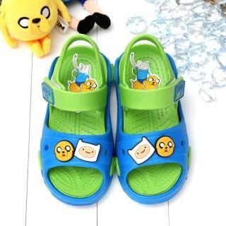 【童鞋城堡】探險活寶老皮和阿寶超輕量玩水性涼鞋(AT4982)