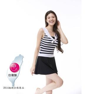 【Bich Loan】情戀連身裙泳裝附泳帽(加贈白人旅遊組13006101)