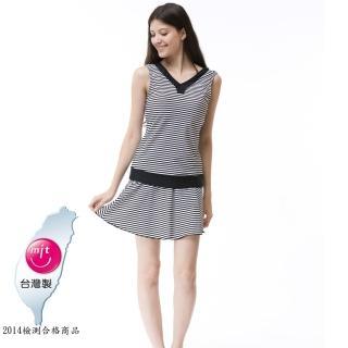 【Bich Loan】夏燕大女三件式泳裝附泳帽(加贈白人旅遊組13006501)