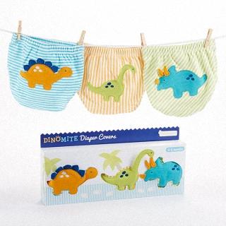 【BabyAspen】BAS 小恐龍 造型包屁褲 彌月禮盒組(#BA15066SM BA15066MD)