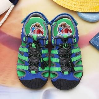 【童鞋城堡】航海王護趾運動涼鞋(OP4115)