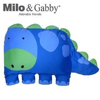 【美國Milo & Gabby】動物好朋友-大枕頭套(DYLAN恐龍)