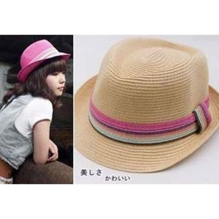 【PS Mall】韓版中性編織草帽/爵士帽(G060)