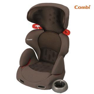 【Combi】New Buon Junior成長型安全座椅(黑/咖啡)