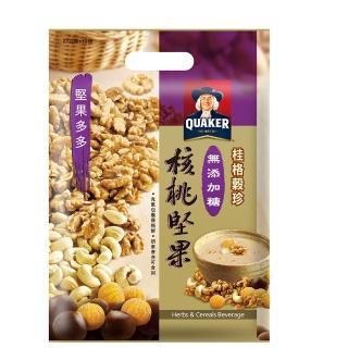 【桂格】無添加糖核桃穀珍燕麥(27g-12包入)