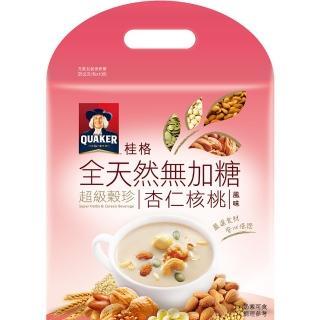 【桂格】精選杏仁超級穀珍-無糖25g*10入