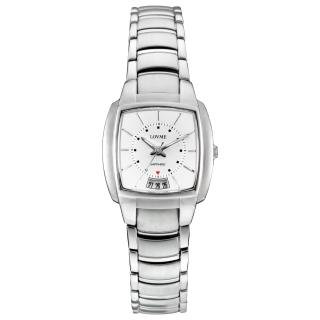 【LOVME】自信俐落時尚腕錶(白)