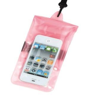 【正品Tteoobl】T-01C 智慧型手機耐壓10米防水袋 4.5吋以下(粉)