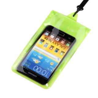 【正品Tteoobl】T-01C 智慧型手機耐壓10米防水袋 4.5吋以下(綠)