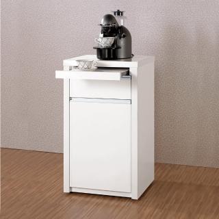 【H&D】卡尼爾1.5尺白色餐櫃/收納櫃