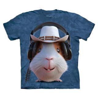 【摩達客】美國進口The Mountain 牛仔天竺鼠 設計T恤(現貨)