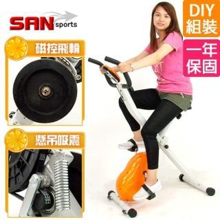 【SAN SPORTS】飛輪式MAX磁控健身車(C121-340)