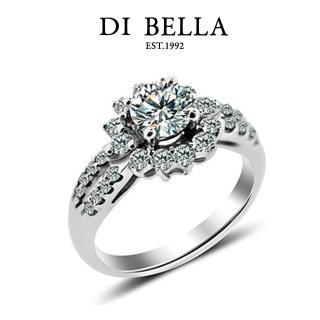 【DI BELLA】話題0.50克拉八心八箭頂級鑽戒