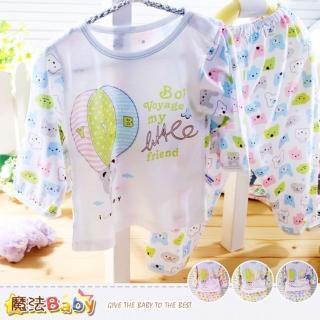 【魔法Baby】幼兒居家套裝-睡衣-輕質涼爽套裝(k35476)