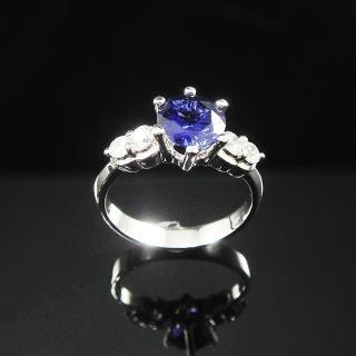 【Celosa名品】Elegance of Blue 藍寶戒指
