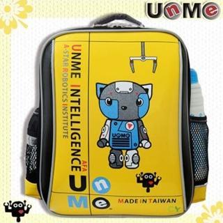 【UnMe】機器人超輕後背書包(黃色)