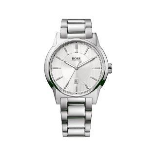 【Hugo Boss】時尚典雅紳士風格男腕錶(白面/44mm/1512914)