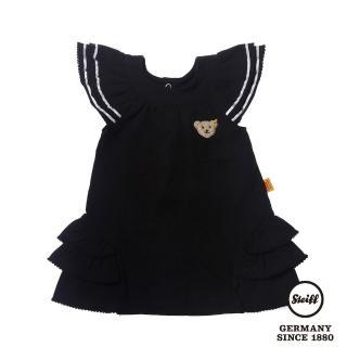 【STEIFF德國精品童裝】公主袖 洋裝 連身裙 深藍(連身洋裝/褲)
