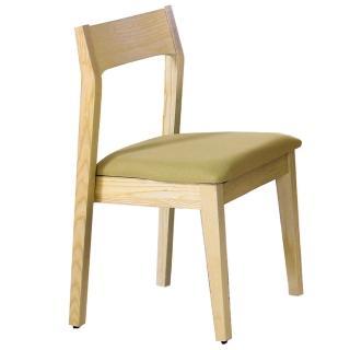 【東京家居】潔西卡栓木布餐椅(四色可選)