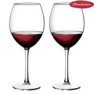 【土耳其Pasabahce】高腳紅酒杯420cc(二入組)