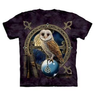 【摩達客】美國進口The Mountain 咒語貓頭鷹 設計T恤(預購)