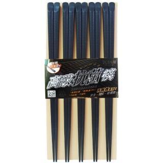 高玻抗菌筷-雲海/波浪/六角/斜角-5入x6包