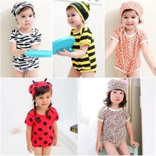 【baby童衣】包屁衣 動物連身衣+帽子套裝 41132(共五色)