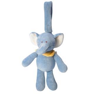 【美國miYim】有機棉推車吊掛娃娃(芬恩象象)