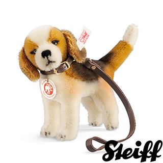 【STEIFF德國金耳釦泰迪熊】Biggie Beagle 米格魯(限量版泰迪熊)
