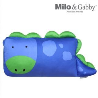 【美國Milo & Gabby】動物好朋友-mini枕頭套(DYLAN恐龍)