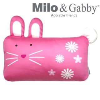 【美國Milo & Gabby】動物好朋友-mini枕頭套(LOLA兔兔)