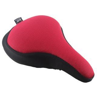【Dr. Air】登山車用氣墊座墊套-馬卡龍色系(熱情紅)