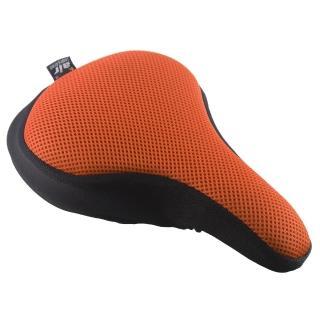 【Dr. Air】登山車用氣墊座墊套-馬卡龍色系(活力橘)