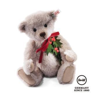 【STEIFF德國金耳釦泰迪熊】Holly Teddy Bear(限量版泰迪熊)