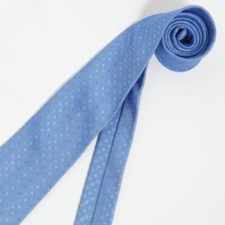 【極品西服】Teflon防潑水義大利領帶_水藍色(YT0123)