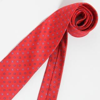 【極品西服】Teflon防潑水義大利領帶_大紅色(YT0119)