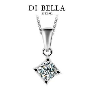 【DI BELLA】璀璨星語 GIA/0.30克拉/D/VVS1美鑽墜鍊