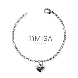 【TiMISA】鈦真心動感 純鈦手鍊(S)